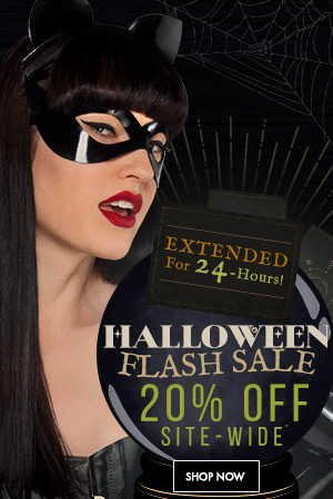 Extended Halloween Flash Sale!