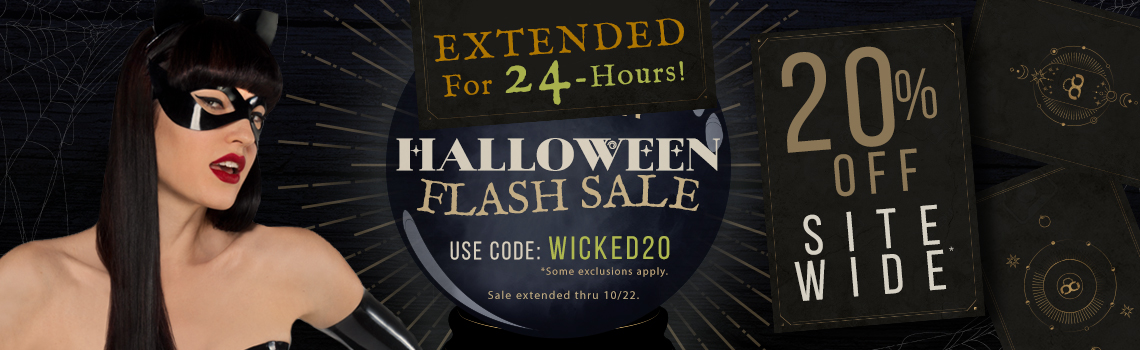 Extended Halloween Flash Sale