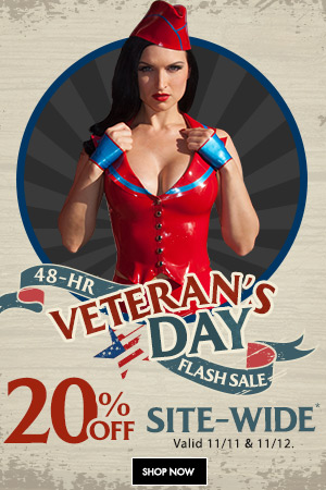Veteran's Day Flash Sale