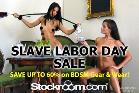 Save up to 60% Off on BDSM Gear & Wear!