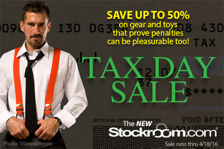 Up to Half-Off in our Tax Day Sale!