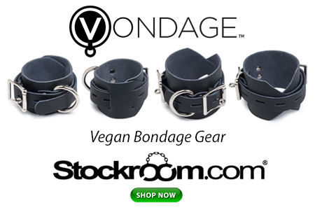 The Newest in Vegan Bondage Gear: Vondage by The Stockroom
