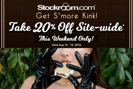 Stockroom Get S'more Kink sale 2018 - take 20% OFF with code YUMMY20