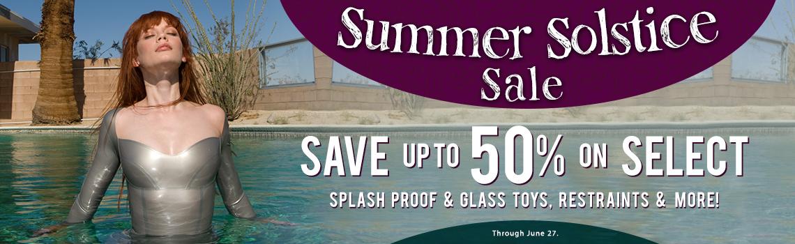 Summer Solstice Savings