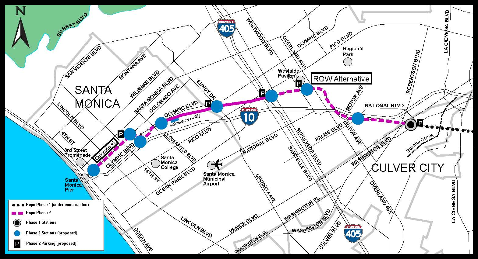 Expo Line Releases Final Environmental Report For Phase 2 From