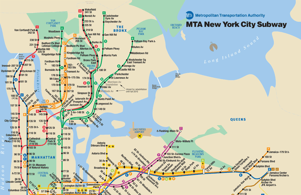 Train Subway Map New York.Big Apple Soon To Get A New Subway Map The Source