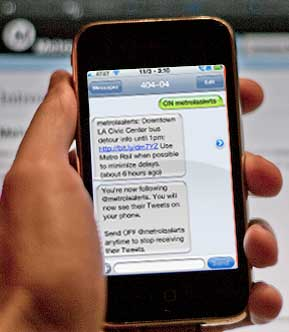 How to get Metro service alerts via text message - The Source