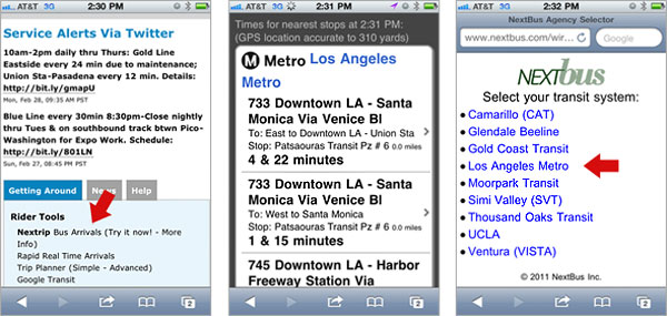 Metro begins testing real-time bus arrival system - The Source