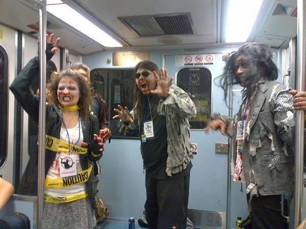 Zombies on board -- from Anna Chen