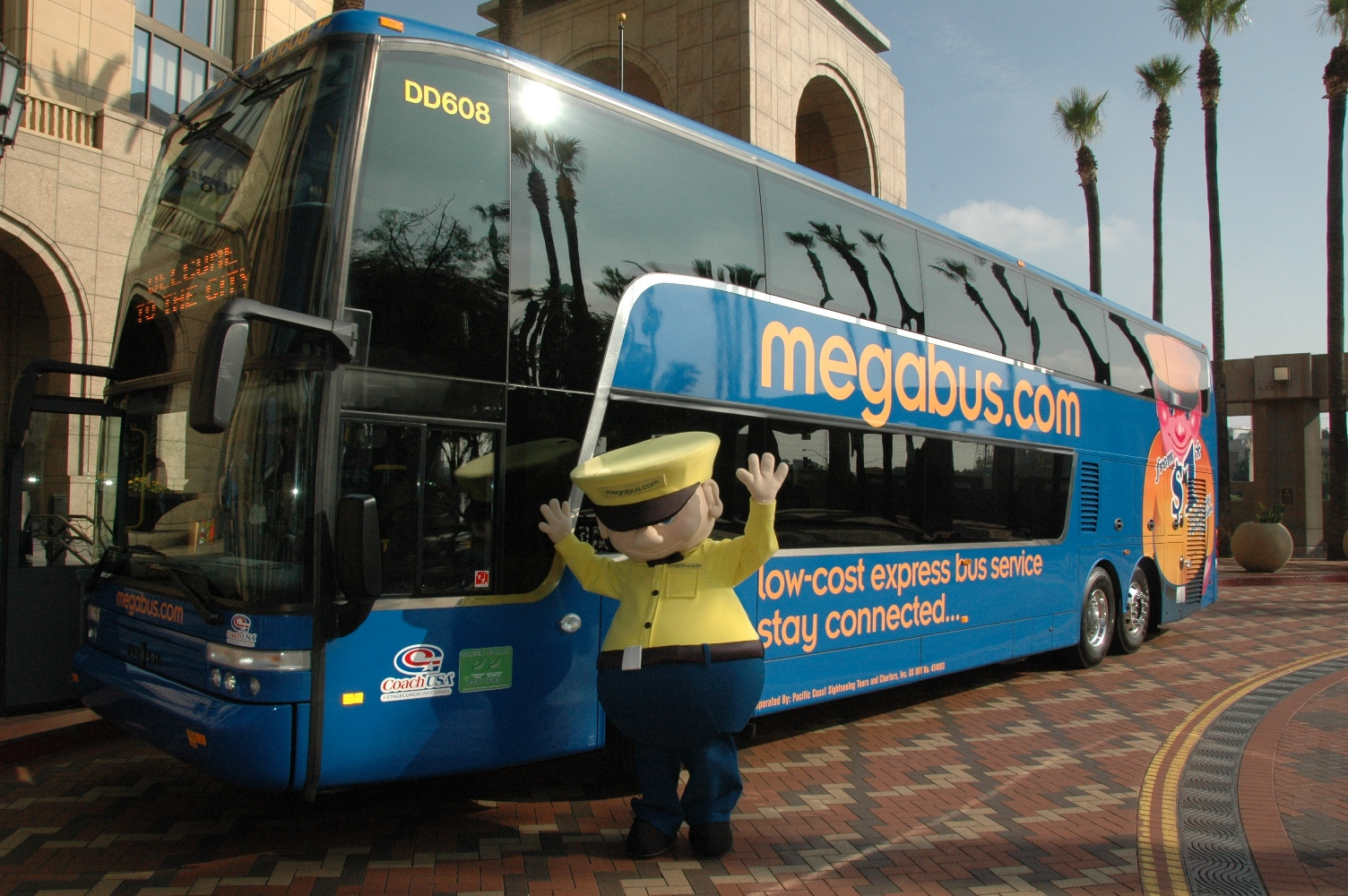 Megabus com to start service from Union Station on Dec 12