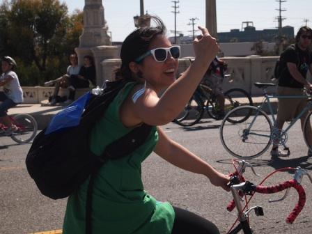 Ciclavia. Photo by Davey Gonzalez/Flickr