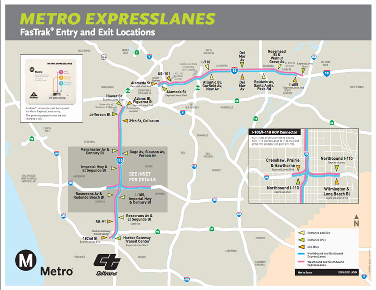 Expresslanes To Open On 10 Freeway On Feb 23 The Source