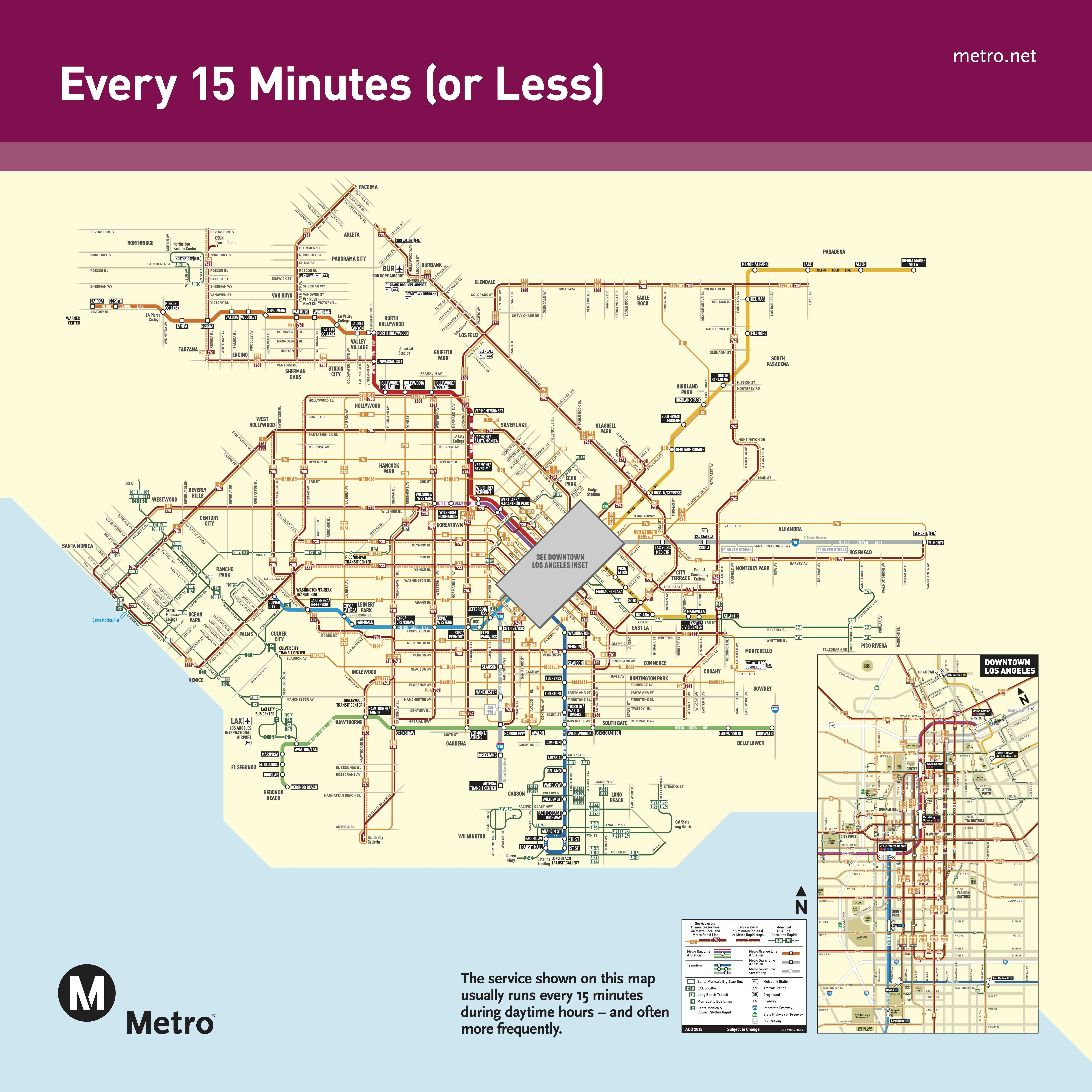 La Metro Bus Map Coldwater Canyon closure announced; no need to completely freak