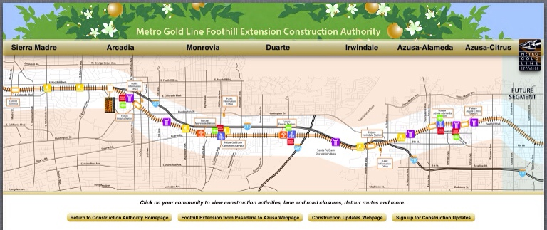 New interactive map to track construction of the Gold Line ... on interactive coloring usa map, simple u.s. map, interactive united states map, interactive europe map, convention of states map, interactive united states regions, interactive driving maps, leapfrog interactive map, united states features map, interactive mexico map, interactive map software, health care united states map, interactive map maker, breweries of the united states map, pbs interactive map, interactive travel map, interactive map of the internet, potomac river on united states map, interactive map of usa game, you are here universe map,