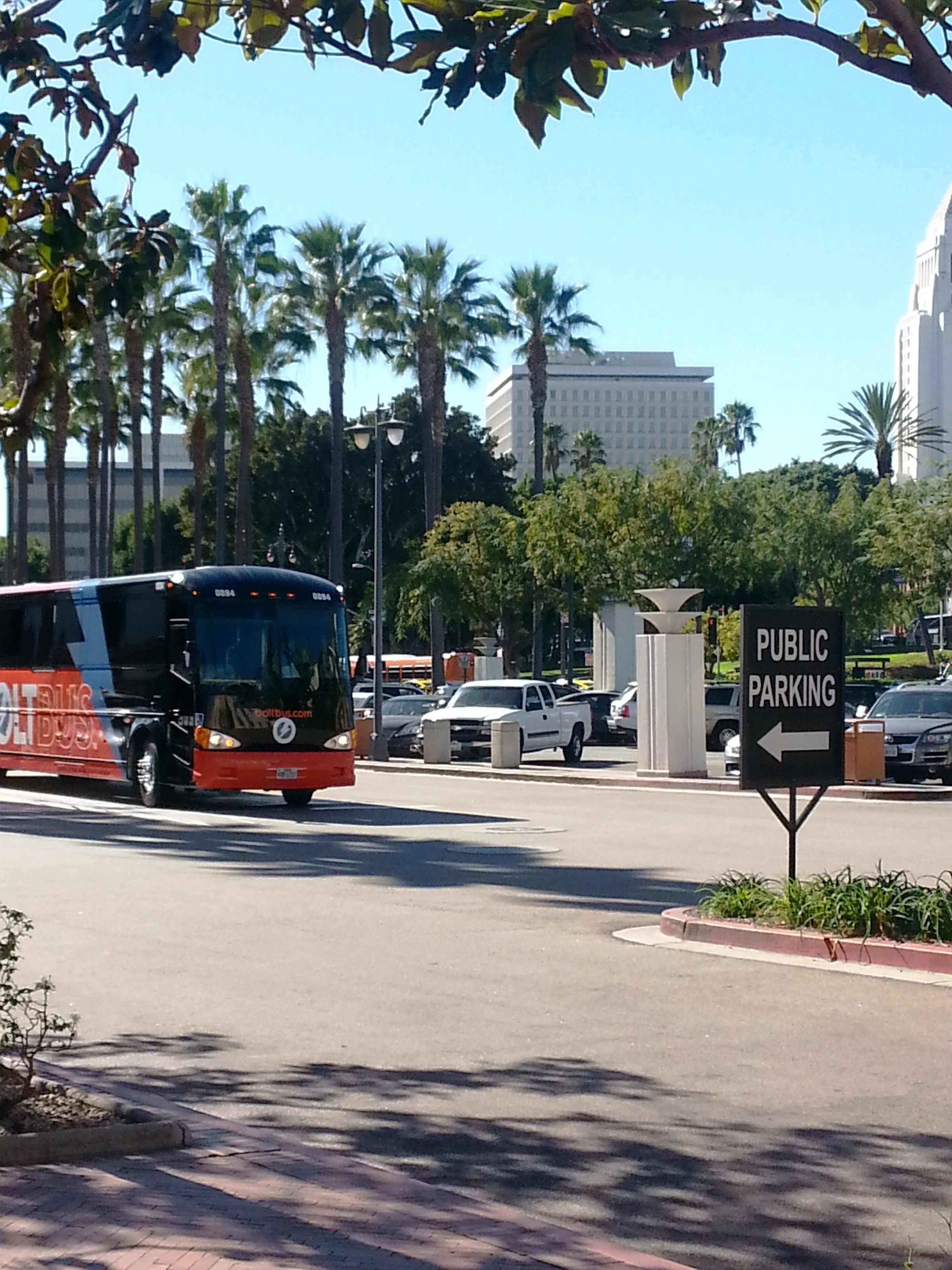 BoltBus now at Union Station and ready to start service to