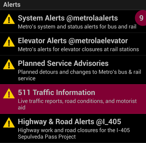 Go Metro mobile app for iPhone and Android – update