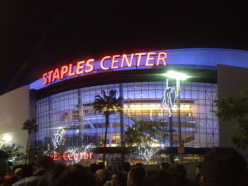 Staples_Center_Night