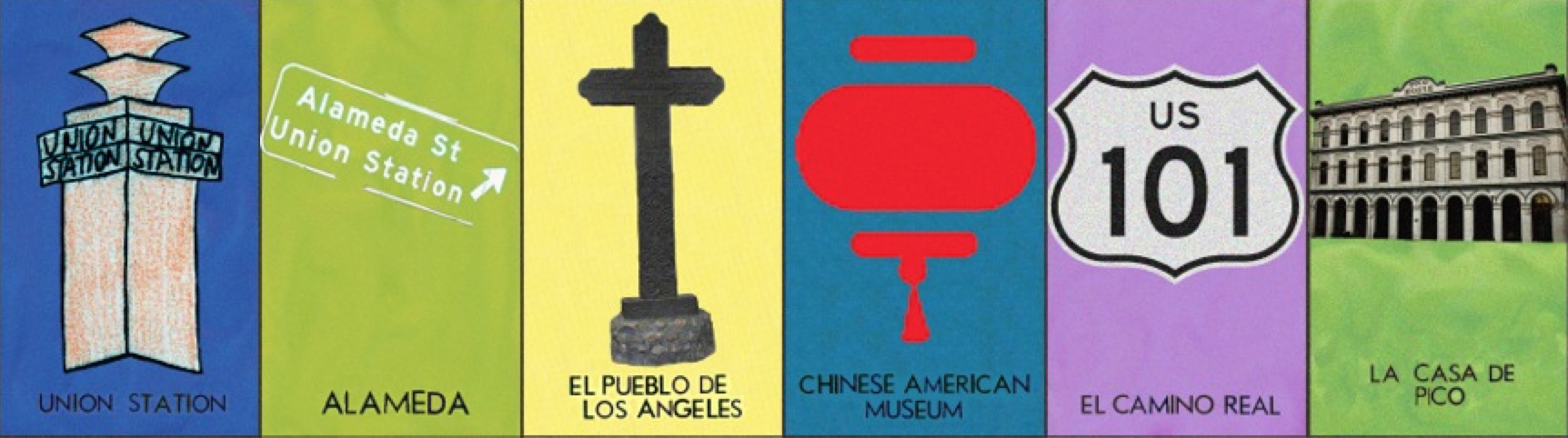 Los Angeles themed Loetria cards