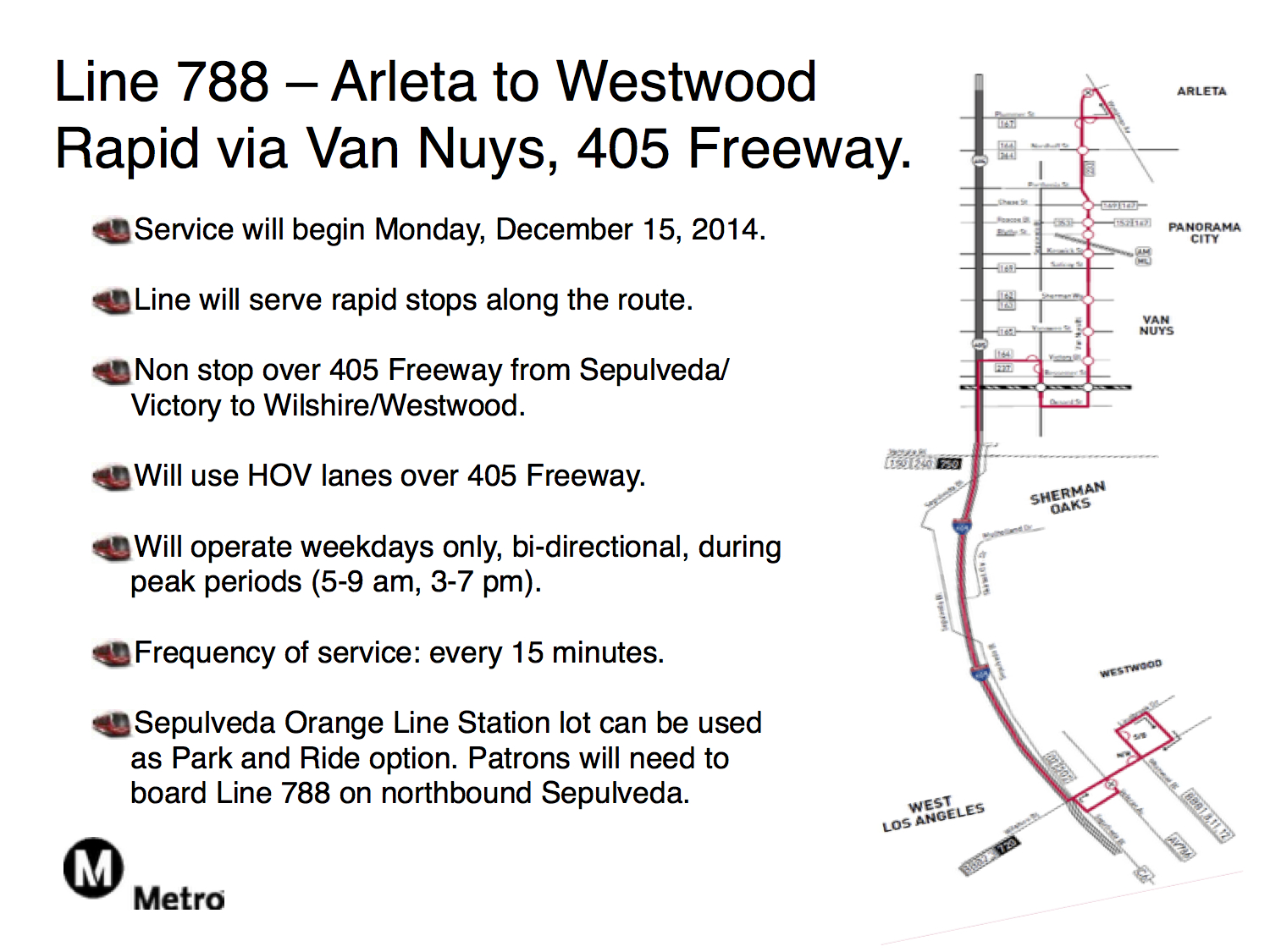 Here's the map and highlights for new 788 Valley-Westside