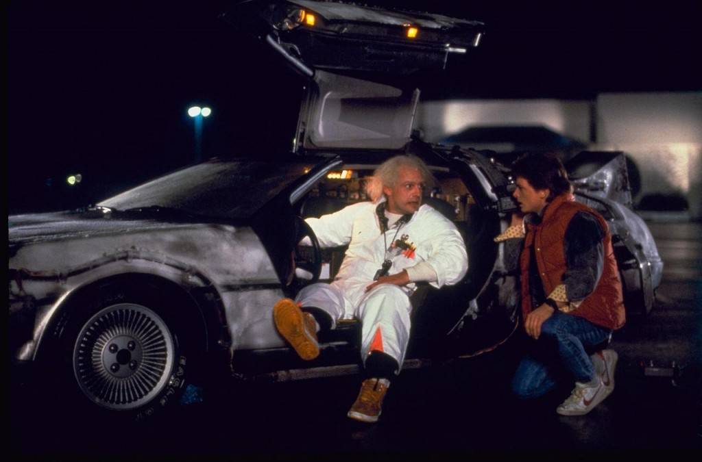 Marty McFly should check the status of high-speed rail in 2114.