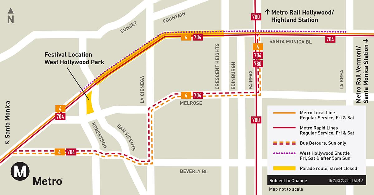 Go Subway Map.Go Metro To La Pride The Source