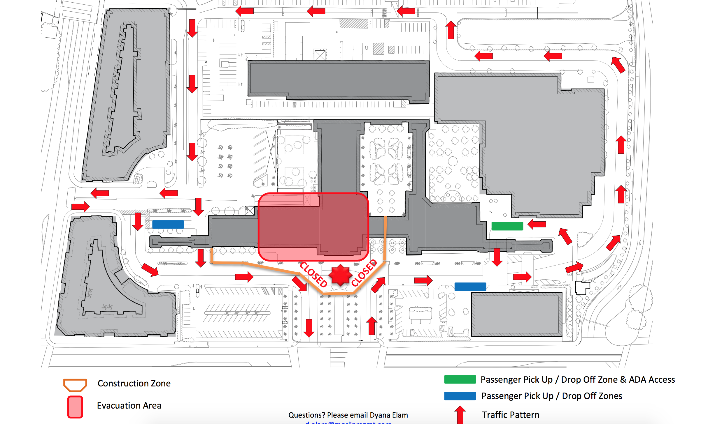union station closure map entrance | The Source