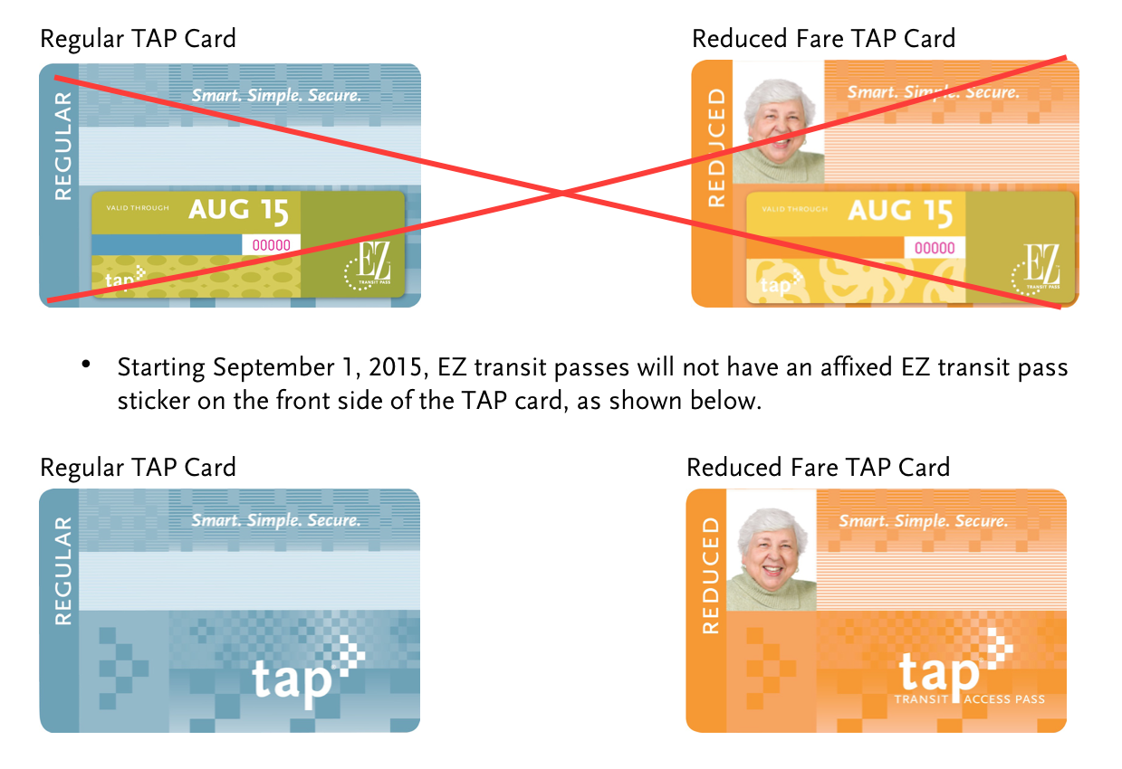 No more EZ Transit Pass stickers! - The Source