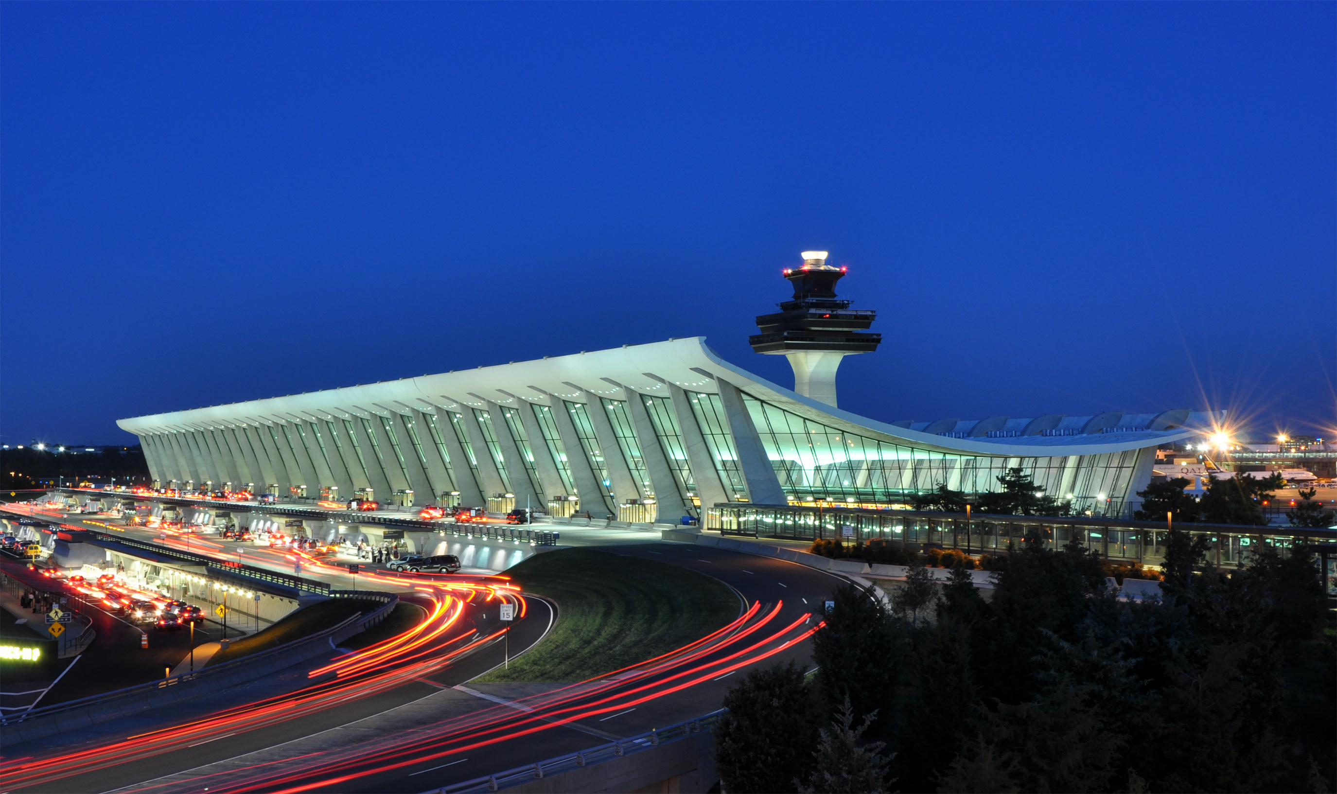 Dulles International Airport near Washington D.C. Photo: Wikimedia.