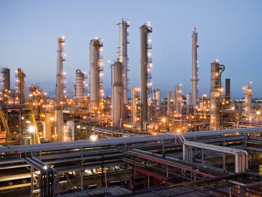 The Exxon Mobil refinery in Torrance. Credit: Exxon Mobil website. Click above an explanation of the refinery.