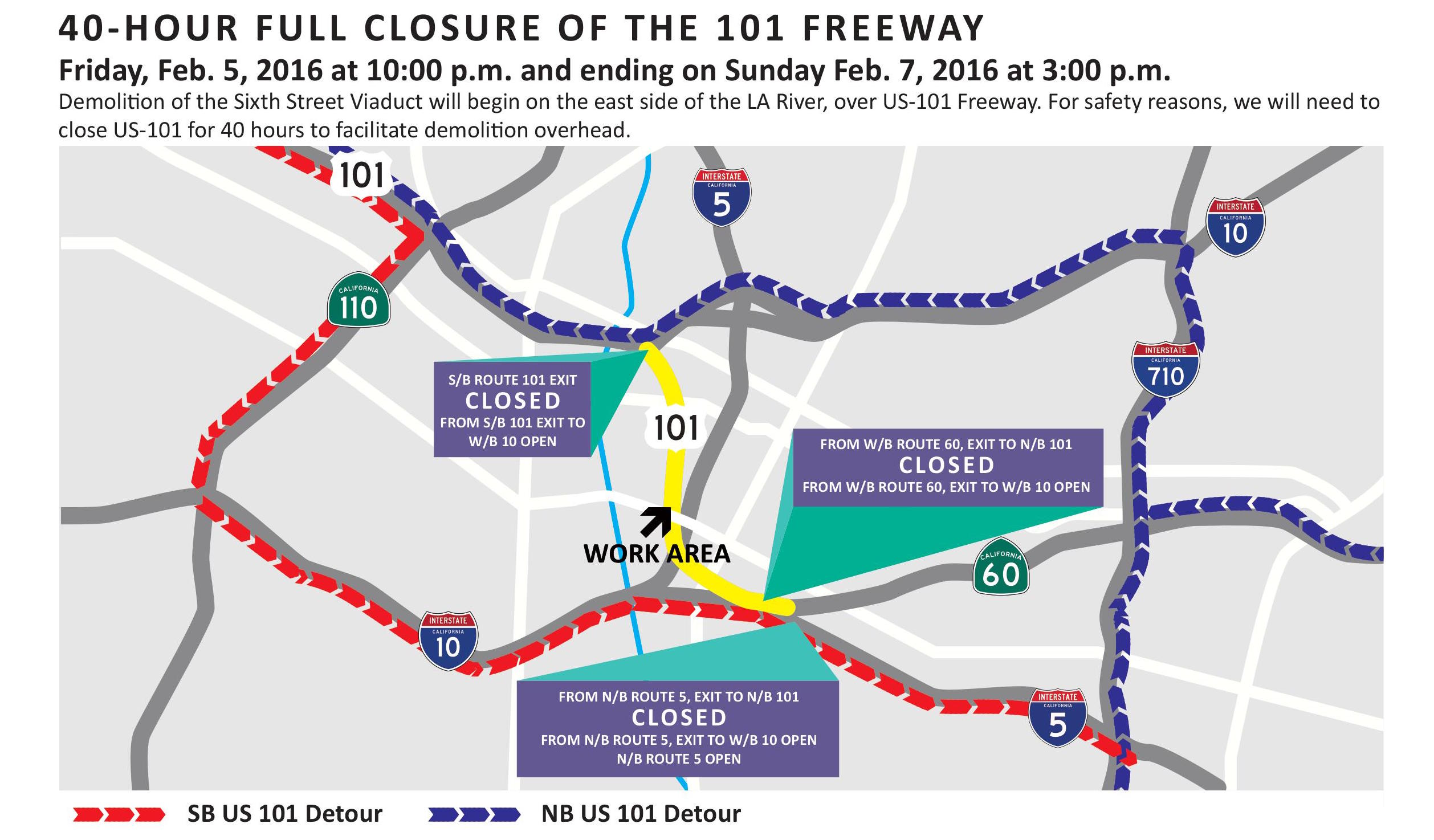 Motorists beware: Slow Jam on the 101 followed by steer clear of the