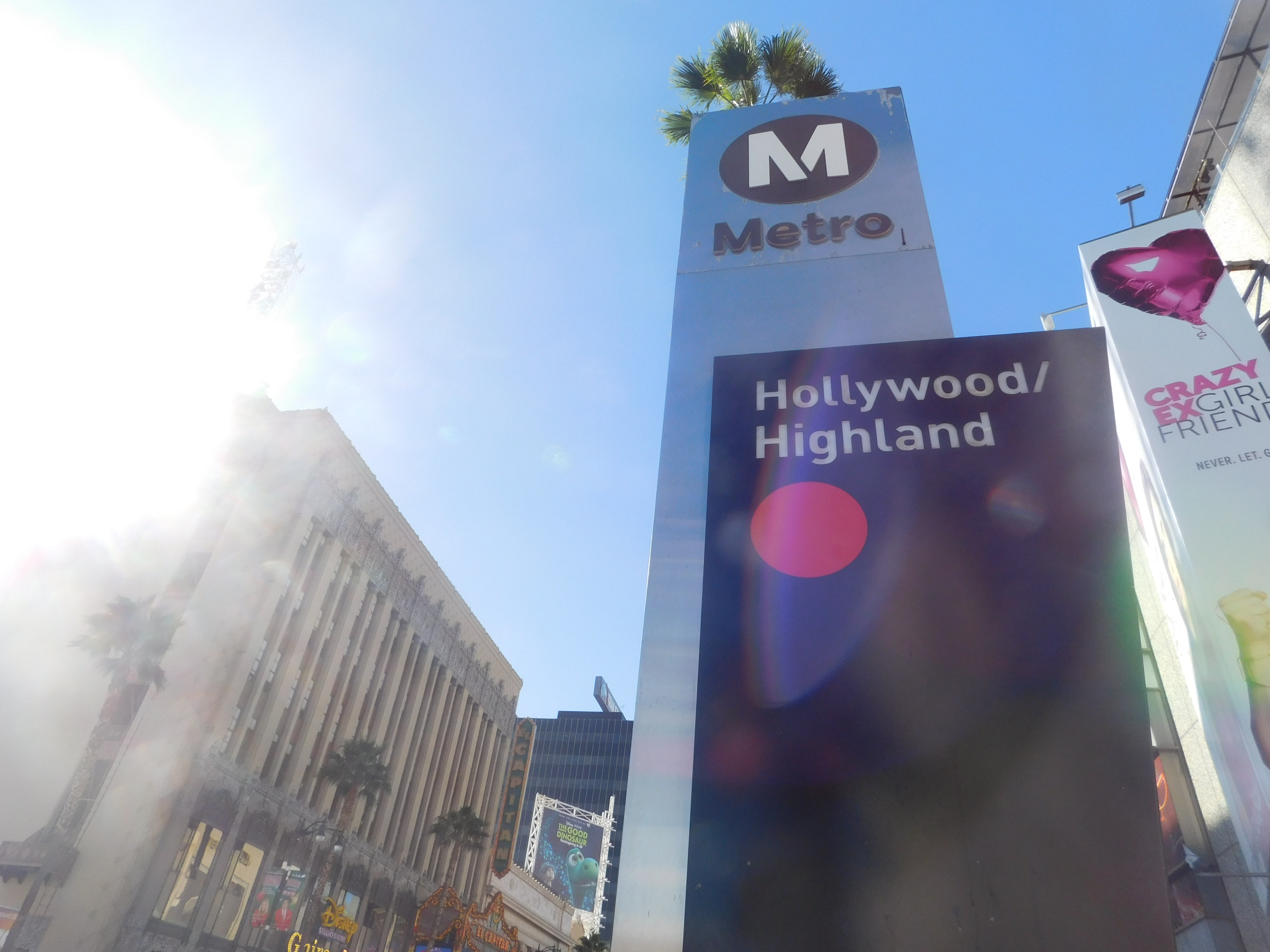 The Oscars Bus Detours And Hollywood Highland Station
