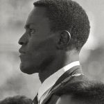 Rafer Johnson at the 1960 Rome Games. Credit: Wikipedia.