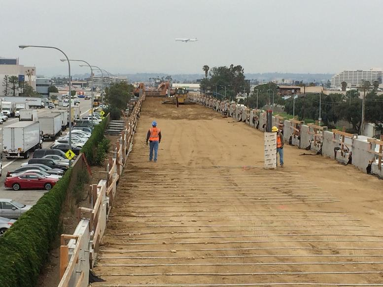 Mse Wall Construction : Mse walls l r rth of imperial highway crews worked