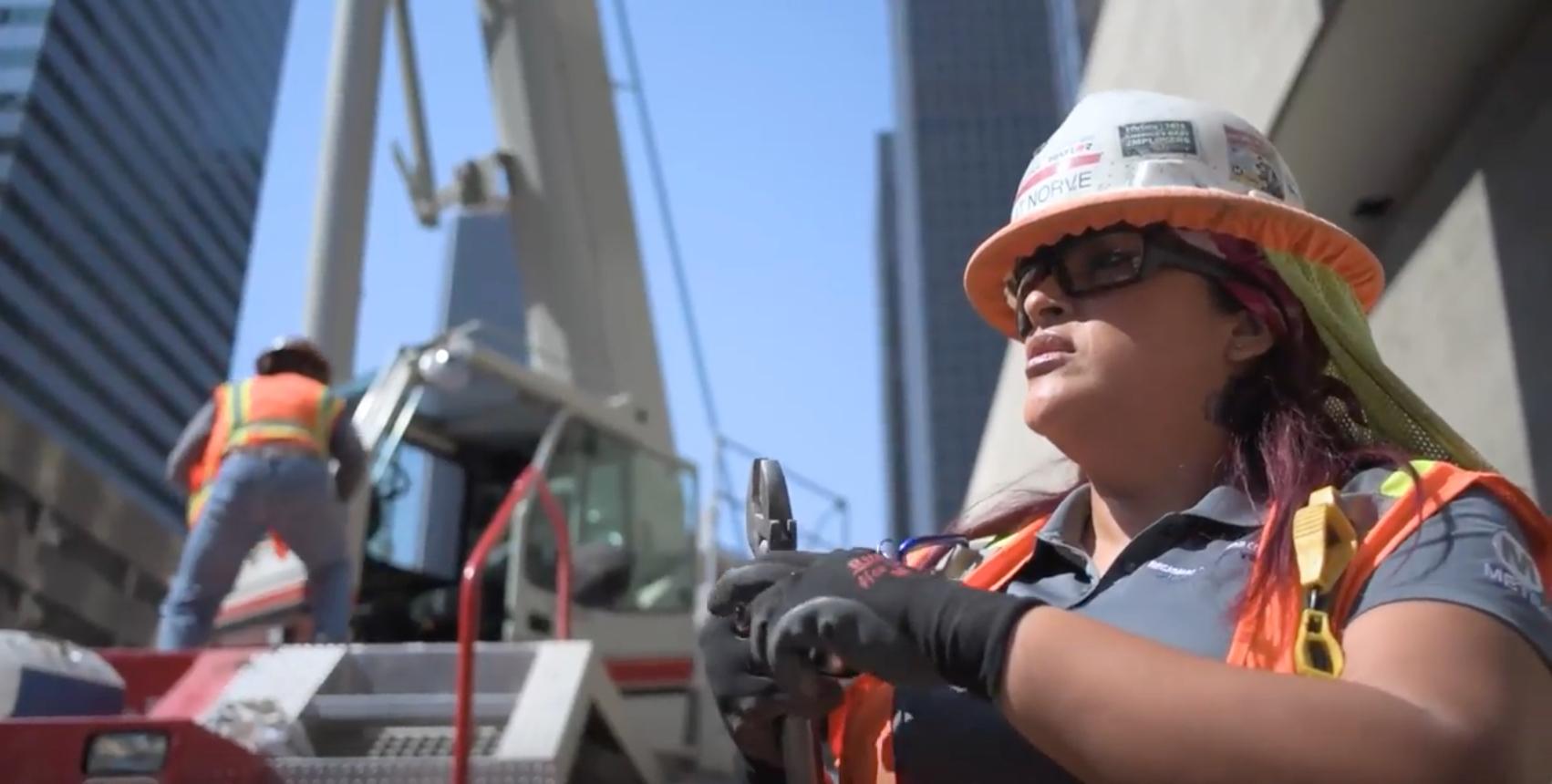 Video: Metro's construction careers program helps single mom