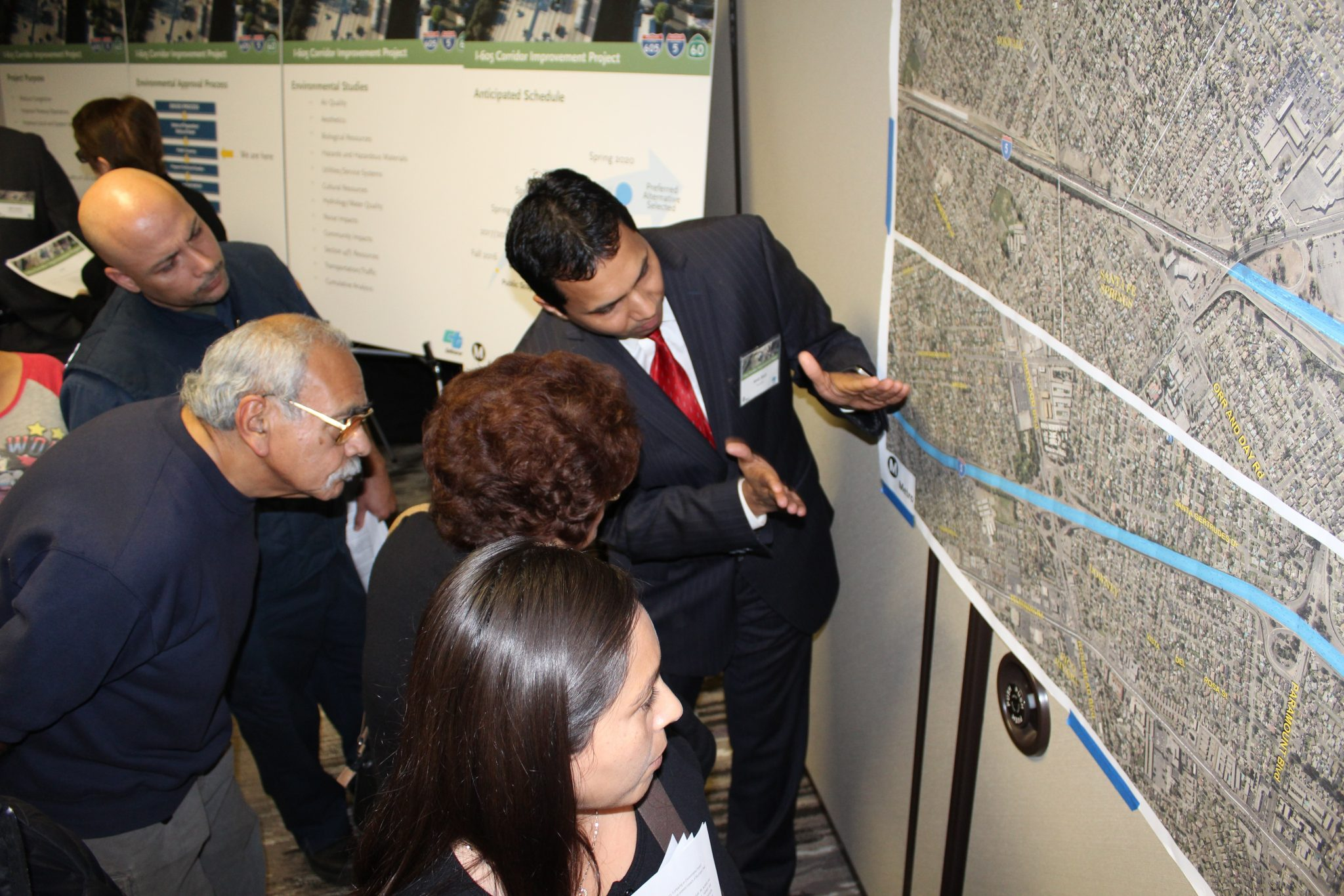 Upcoming community meetings for I-605 Corridor Improvement Project