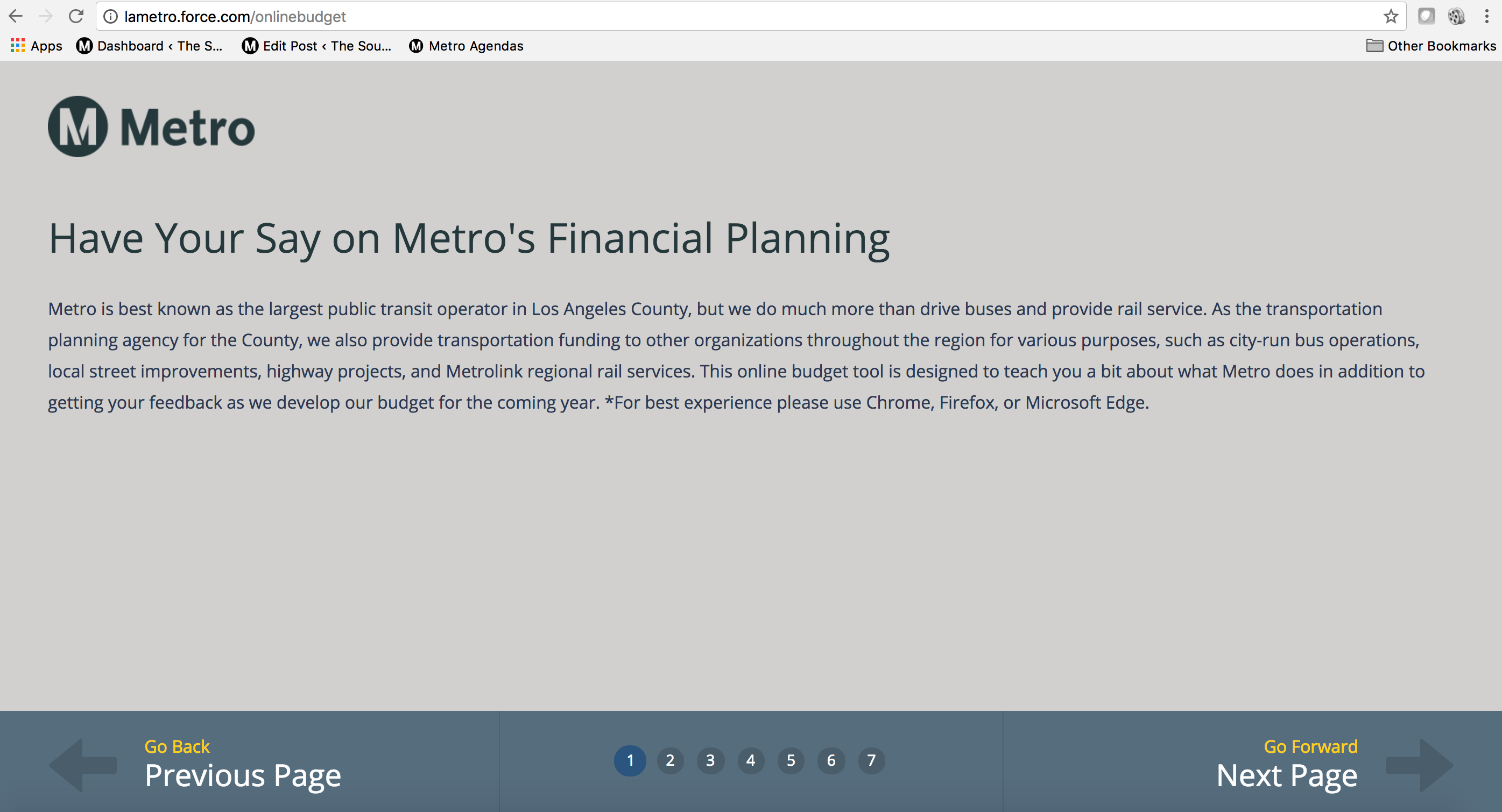 have your say on metro s financial planning and budget the source