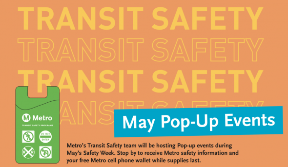 Metro Community Education Hosting Pop Up Safety Events In May