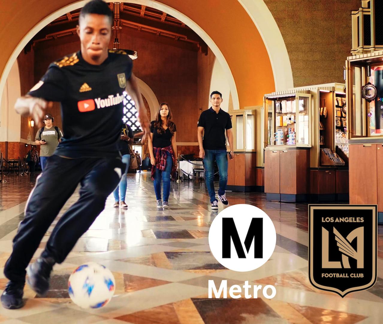 Lafc Subway Map.Metro X Lafc Go Metro To Banc Of California Stadium The Source