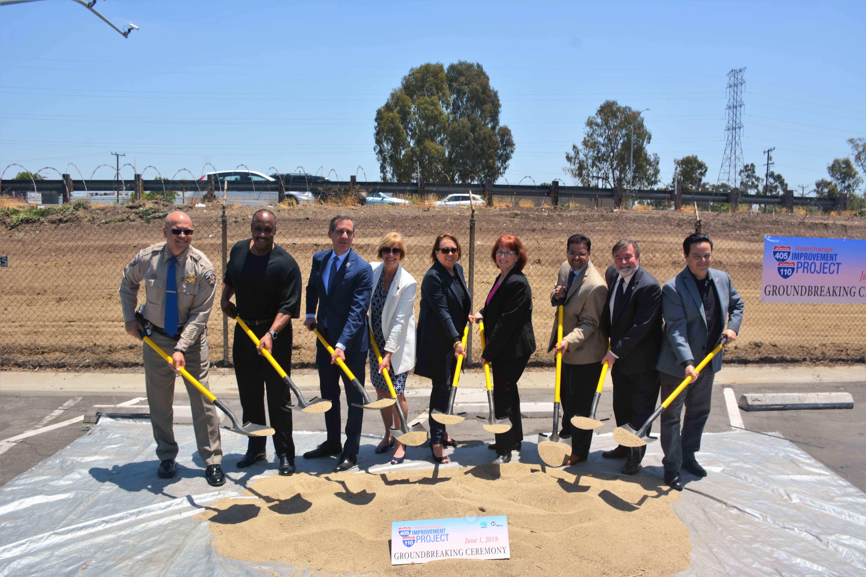Groundbreaking held for project to improve 110/405 interchange - The
