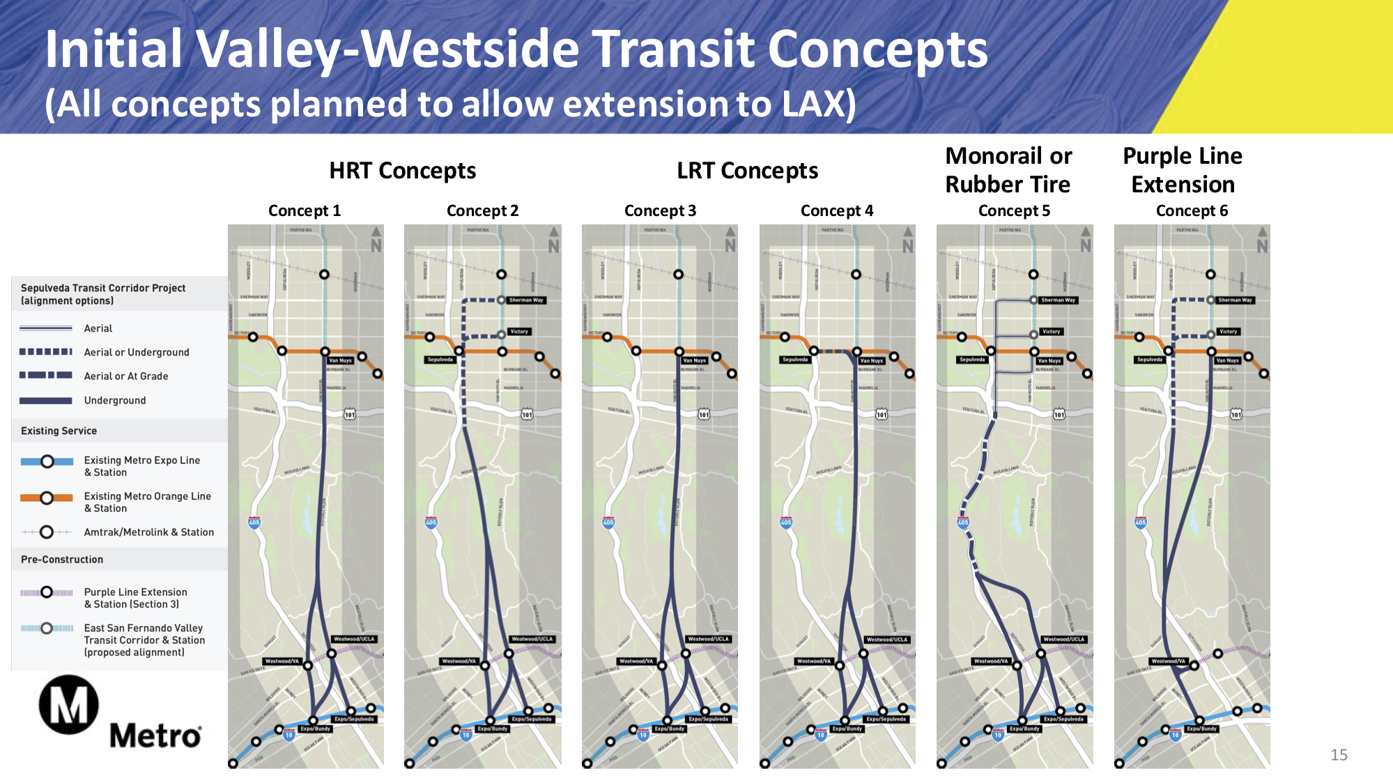 Rail concepts released for Sepulveda Transit Corridor project - The