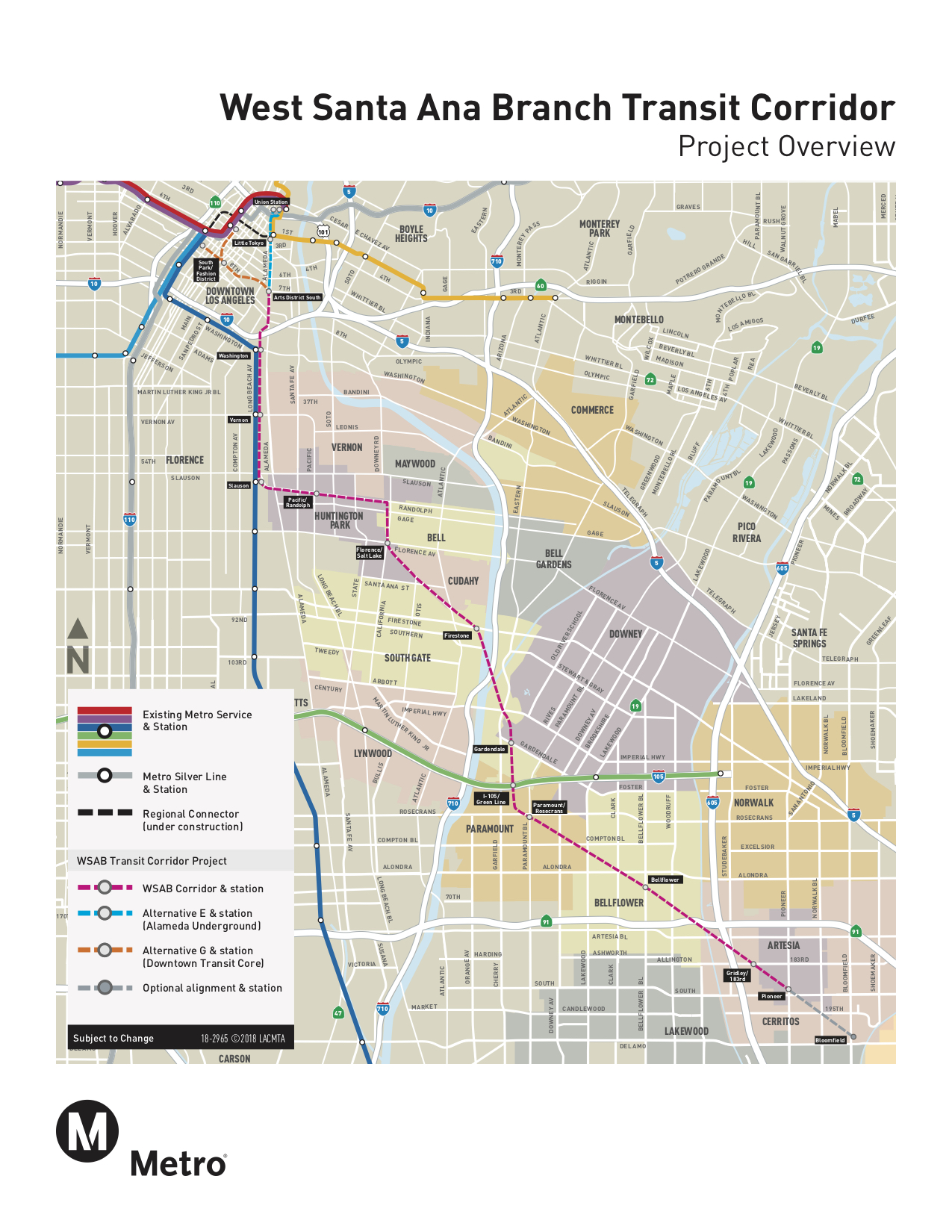 Updated scoping meetings for Artesia to DTLA light rail project ...