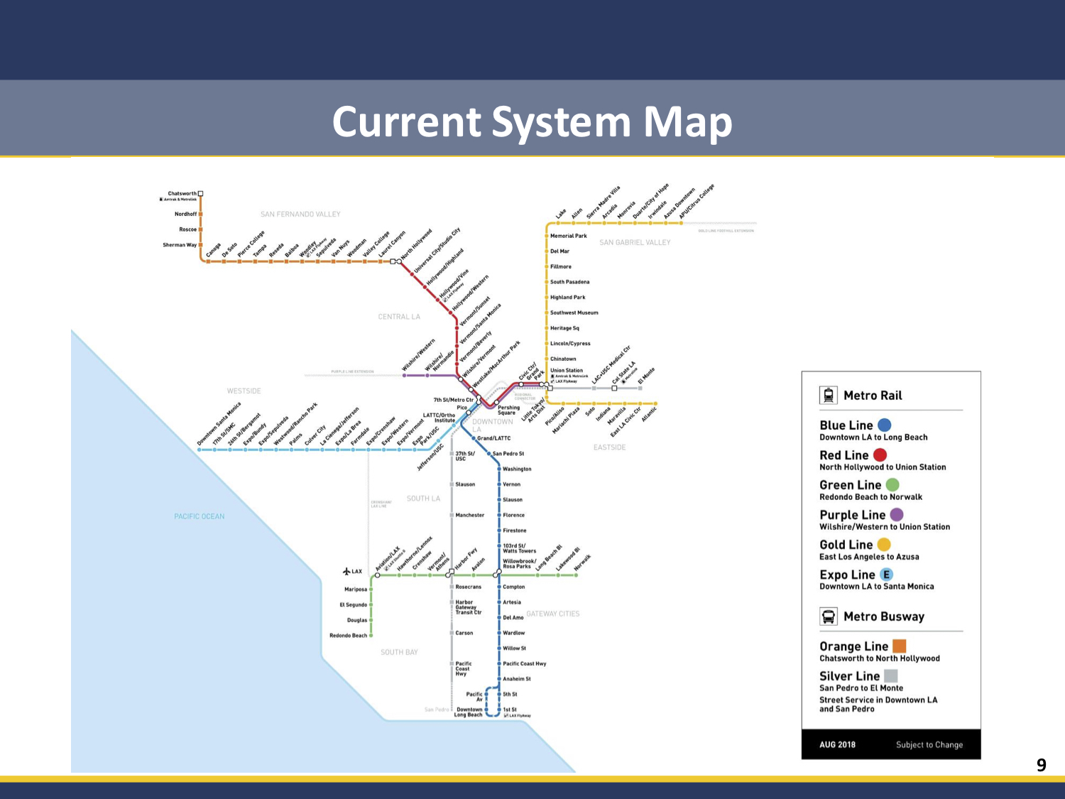 Current La Subway Map.Want To Ride The Pink Line Or The Q Line La Metro Is Studying How