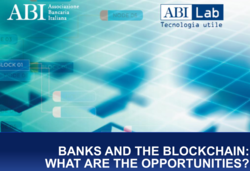 Banks and the Blockchain: What are the Opportunities?
