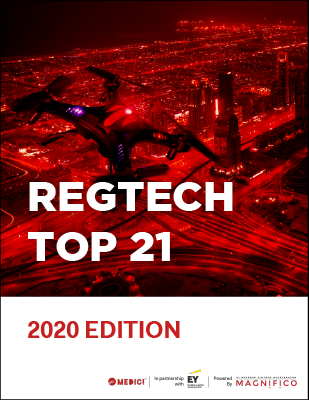 RegTech Top 21 - 2020 Edition
