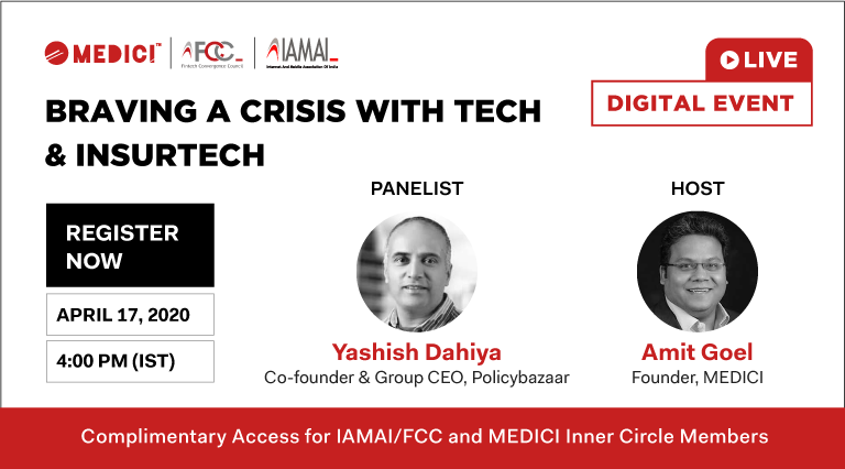 Braving a Crisis with Tech and InsurTech – Live Video Q&A