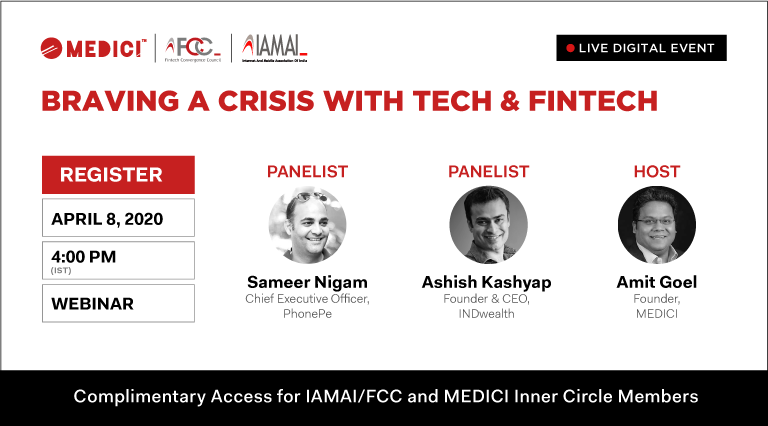 Braving a Crisis with Tech & FinTech – Live Video Q&A