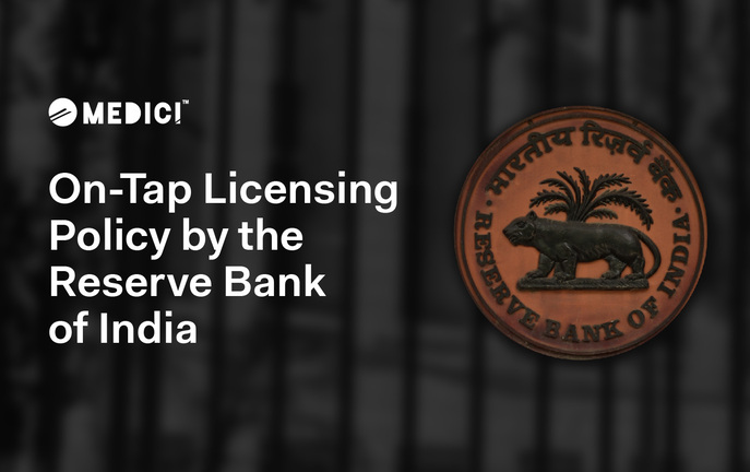 On-Tap Licensing Policy by the Reserve Bank of India