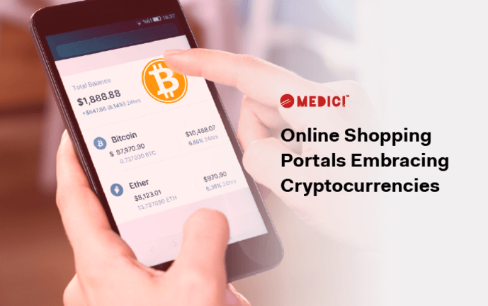 Online Shopping Portals Embracing Cryptocurrencies