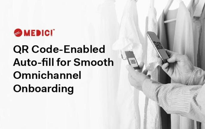 QR Code-Enabled Auto-fill for Smooth Omnichannel Onboarding