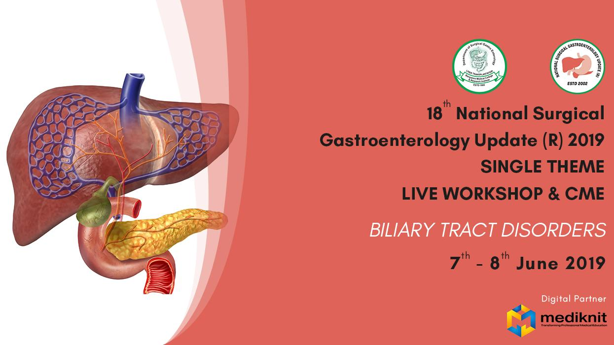 18th National Surgical Gastroenterology Update (R) 2019